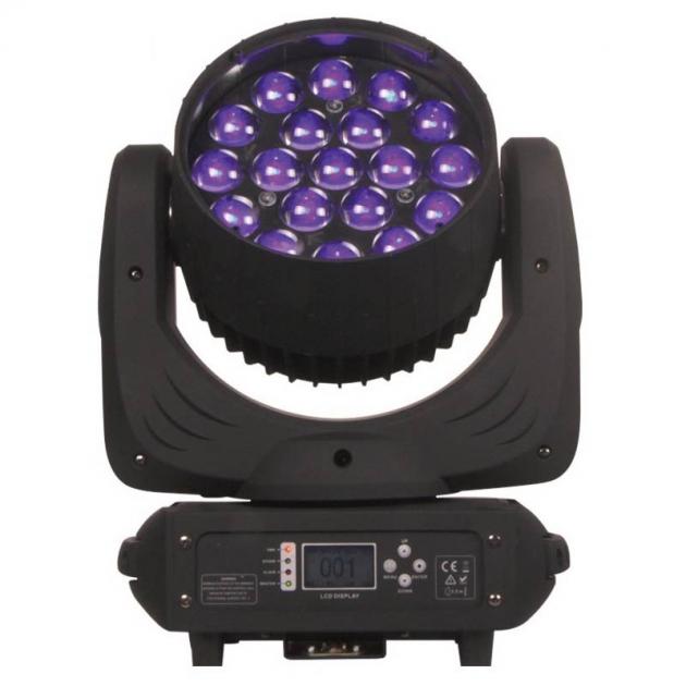 19顆15W LED染色搖頭燈 1