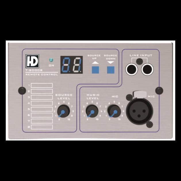 T8000多房間數位矩陣控制器 2