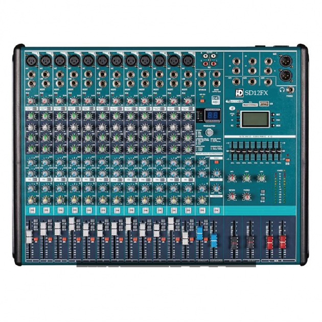 HD-SD12/16/24FX混音機 1