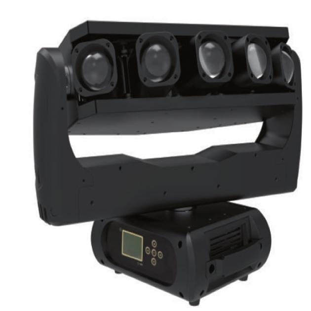 LED五頭光束燈 1