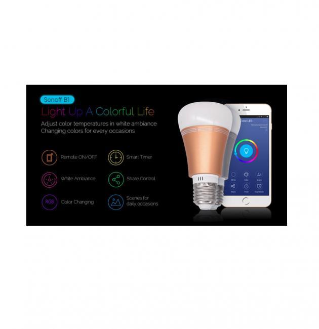 LED調光調色智能燈泡 3
