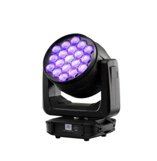 LED 19顆30W調焦搖頭染色燈 1