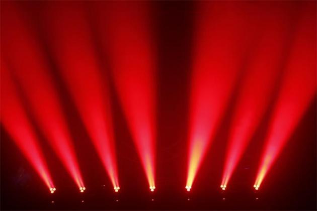 3顆15W調焦PAR燈 3