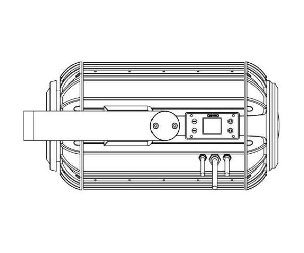 300W LED戶外水紋投影燈 1