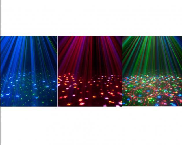 LED&雷射刺月花燈 2
