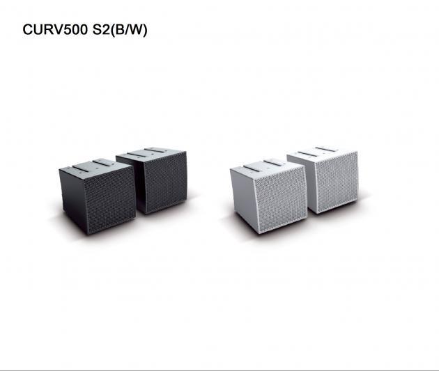 CURV500 S2 多功能輔助喇叭及線性陣列喇叭 1