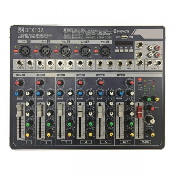 DFX102類比混音機 1