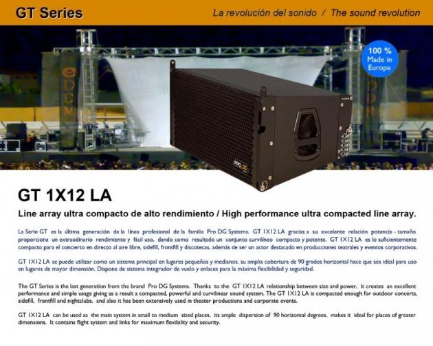 GT1X12LA線性喇叭 2