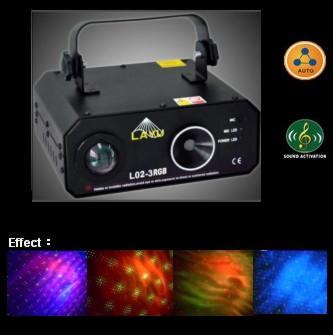 L02-3RGB雷射激光燈 1