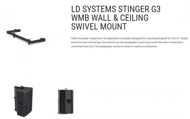 Stinger G3被動喇叭 4