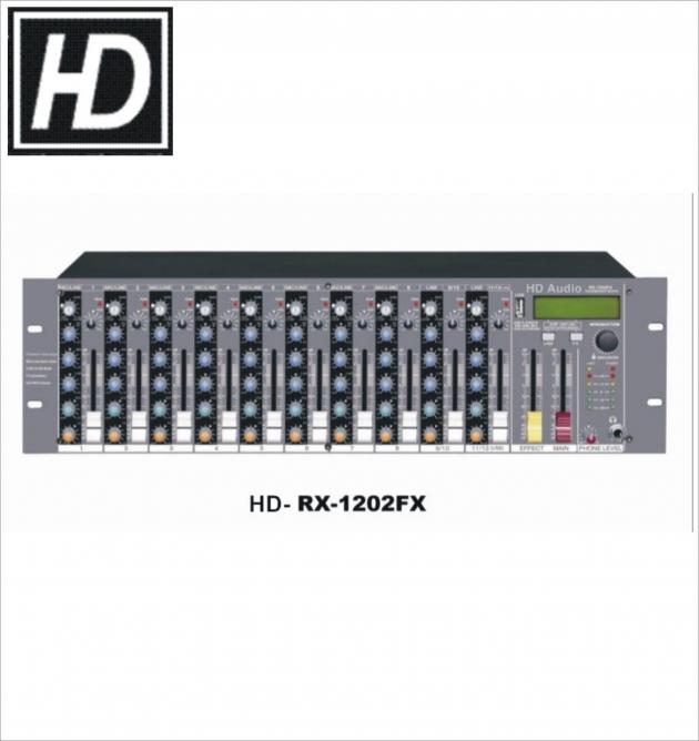 RX1202FX機櫃型混音器 1