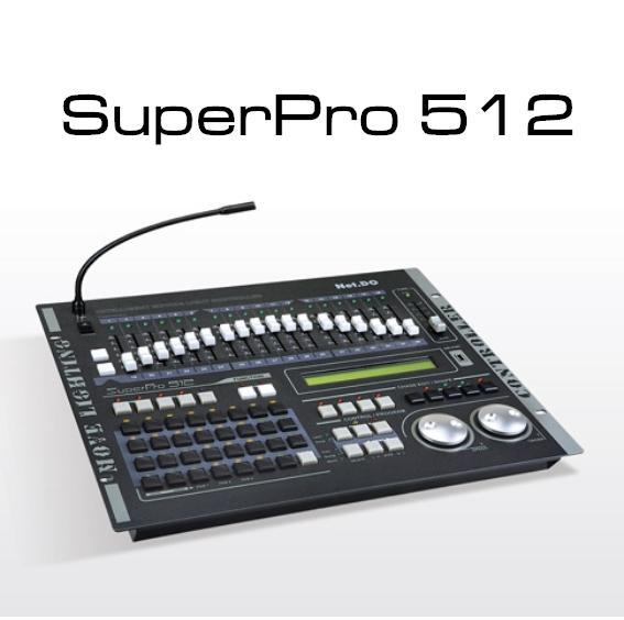 SuperPro512電腦燈控台 1