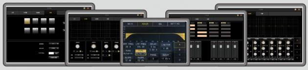 HD D-2600/4600數位觸控擴大機 2