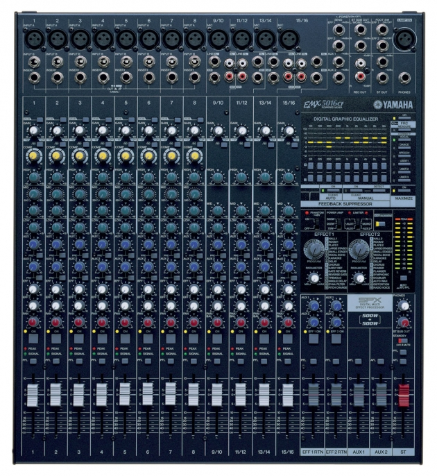 混音擴大機 EMX5016CF 1