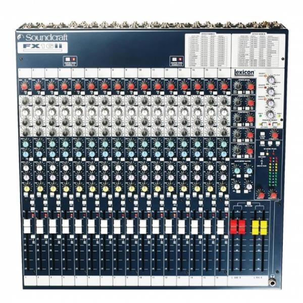 FX16II類比混音機 1
