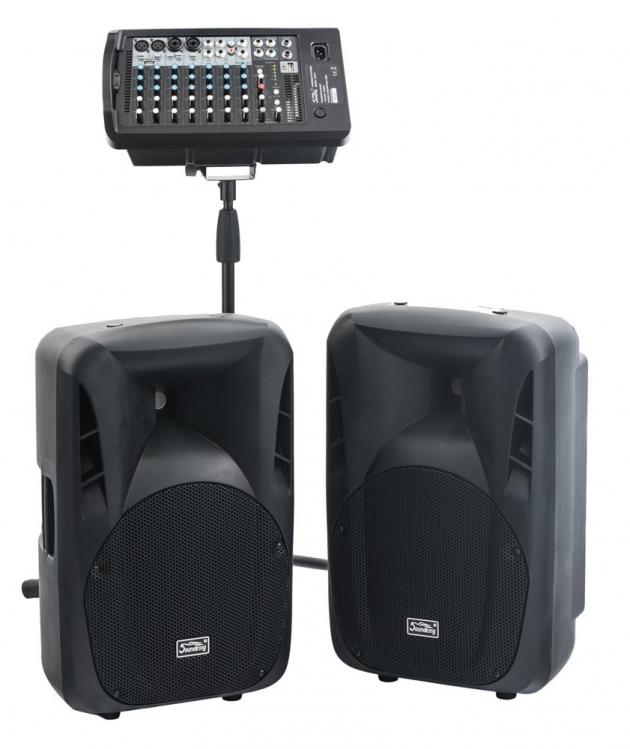 PAP10套裝喇叭 + W106RTH無線麥克風 4