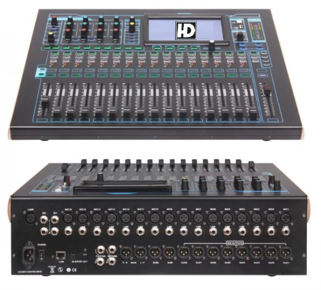 D-2412工程數位混音器 1